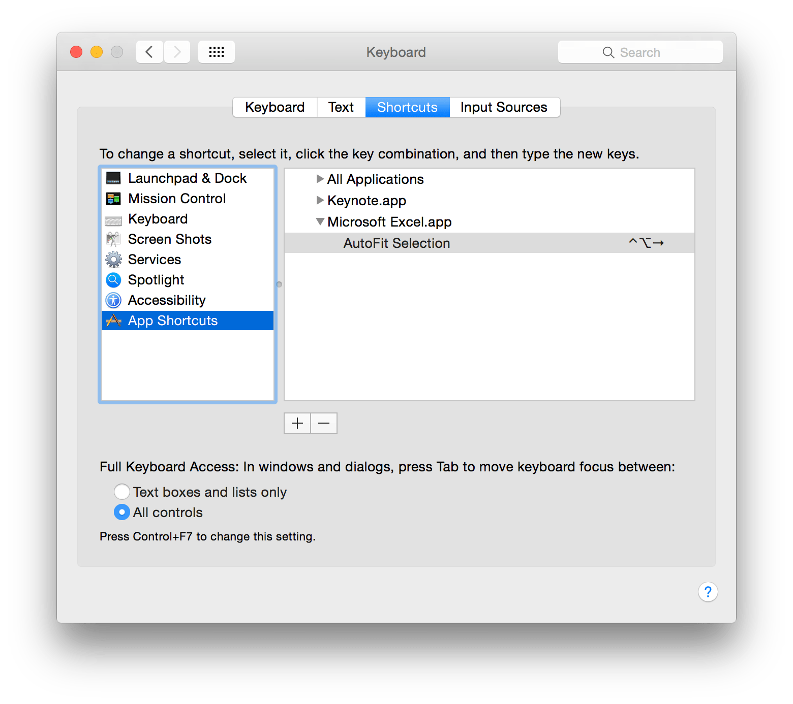Keyboard Shortcut To Fit Column Width To Text In Mac Excel