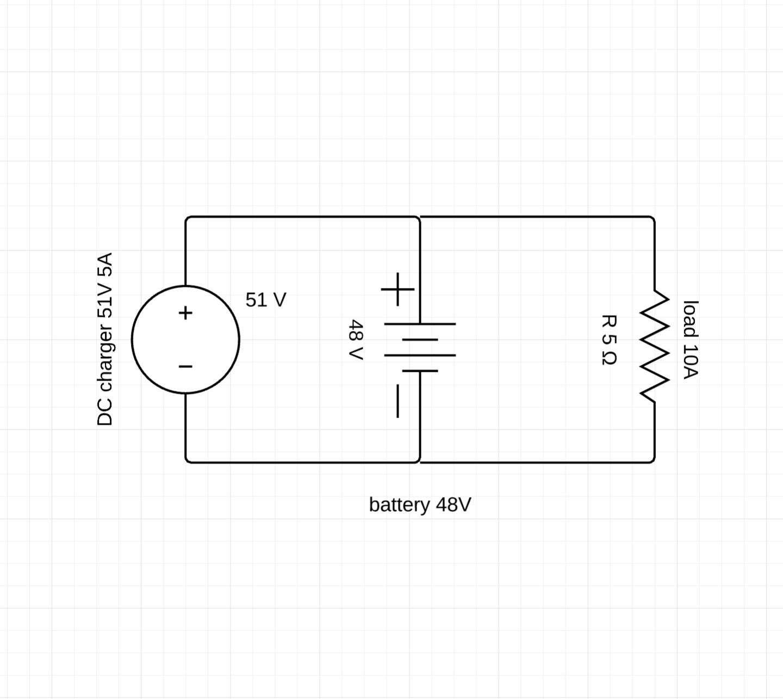 Batteries In Parallel Diagram