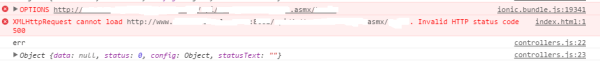 ajax - XMLHttpRequest returns status code 500 - Stack Overflow