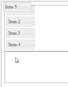 jquery - Connecting a Draggable to Sortable causes helper ...
