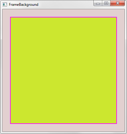 c++ - How to set a custom widget's background color and ...