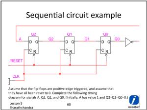 flipflop  Sequential Circuit Diagram: D FlipFlop