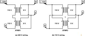 pcb  Using 220v transformer on 110v input  Electrical
