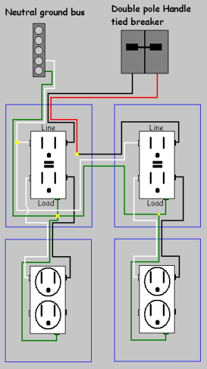 electrical  How do I replace two split receptacles with