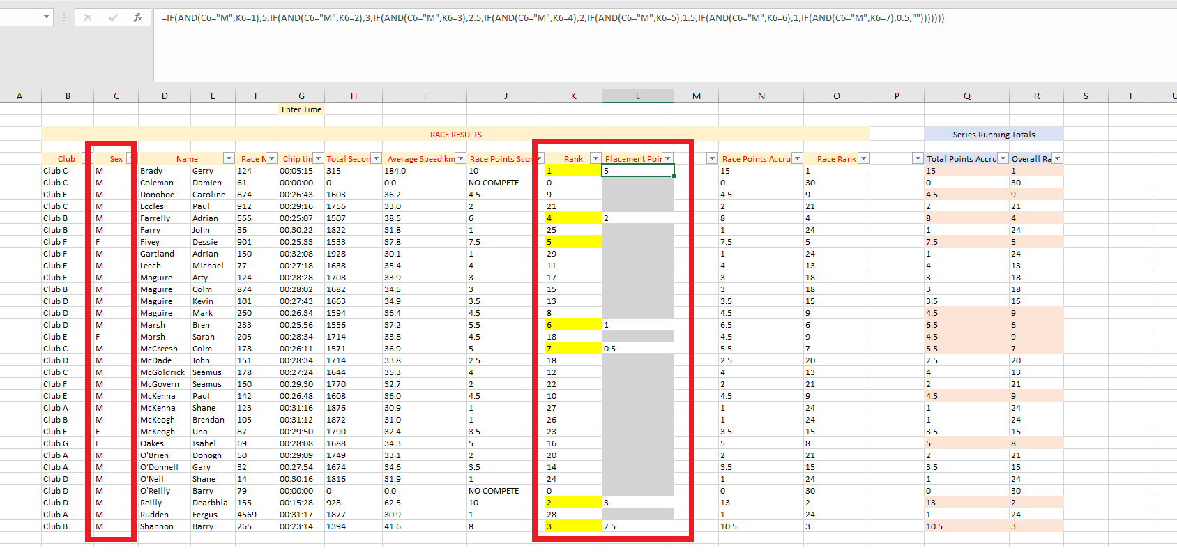 Using The Rank Function In Excel