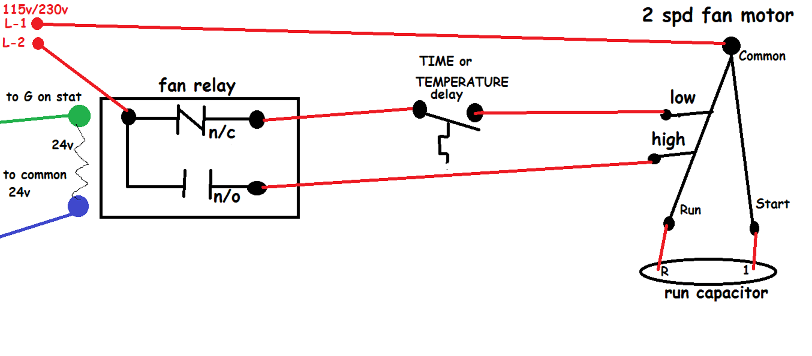 How Should I Wire This White-Rodgers Fan And Limit