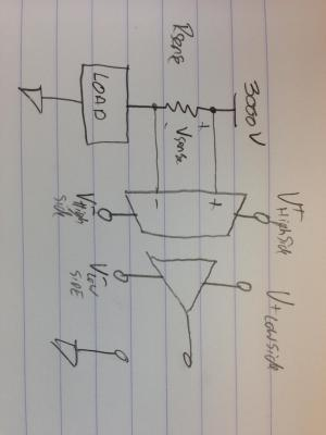 amplifier  Powering an AMC1200 Isolation Amp  Electrical Engineering Stack Exchange