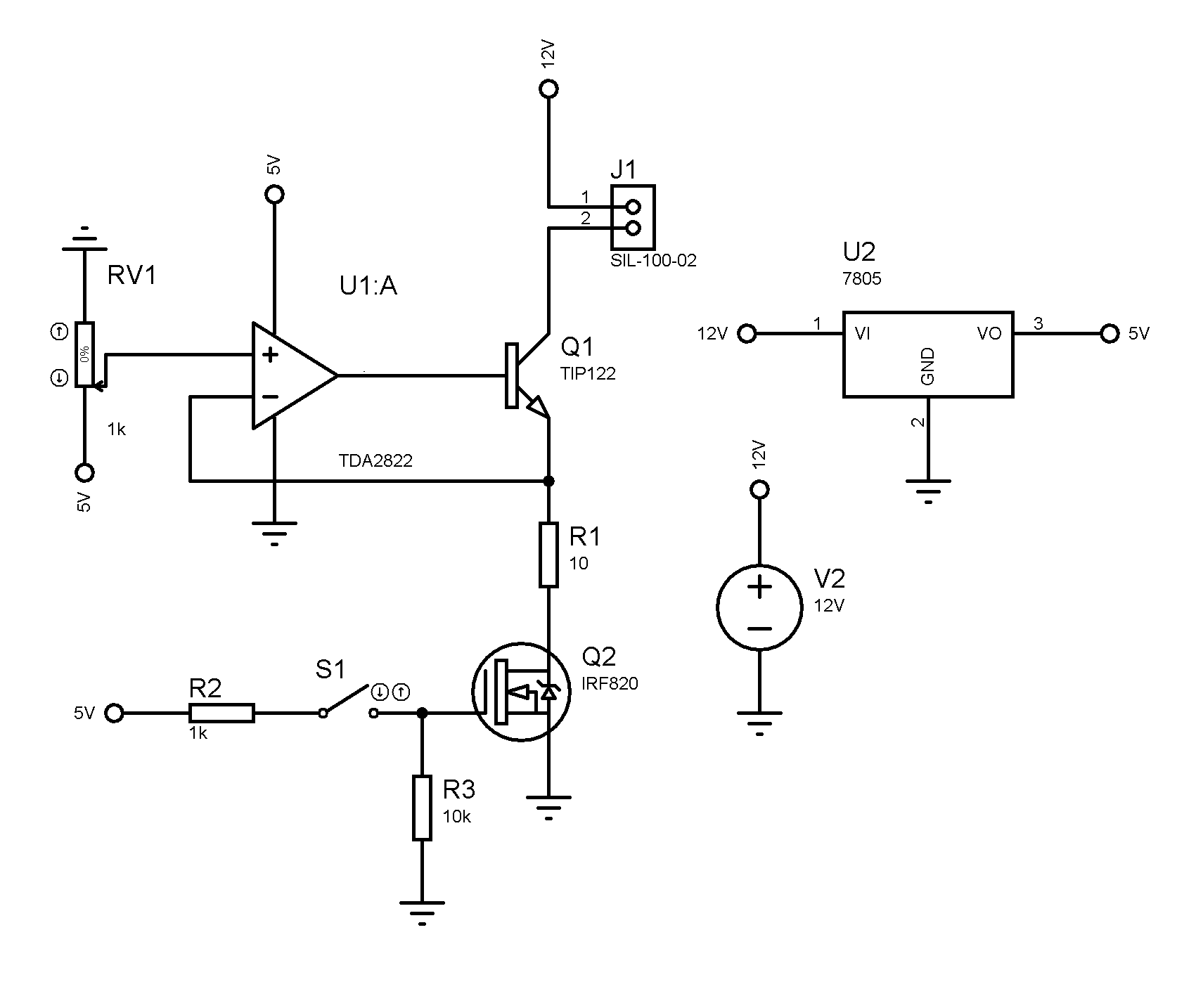 Opamp Heating In Voltage Controlled Current Source