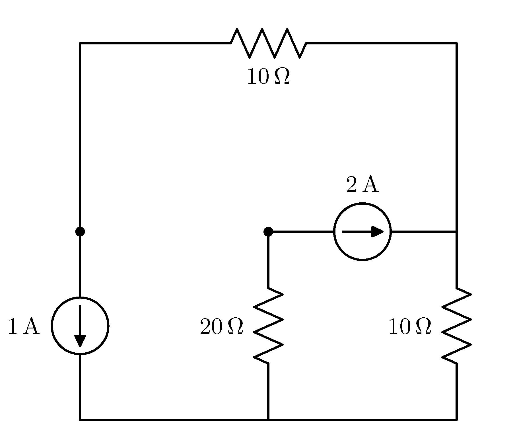 Circuitikz