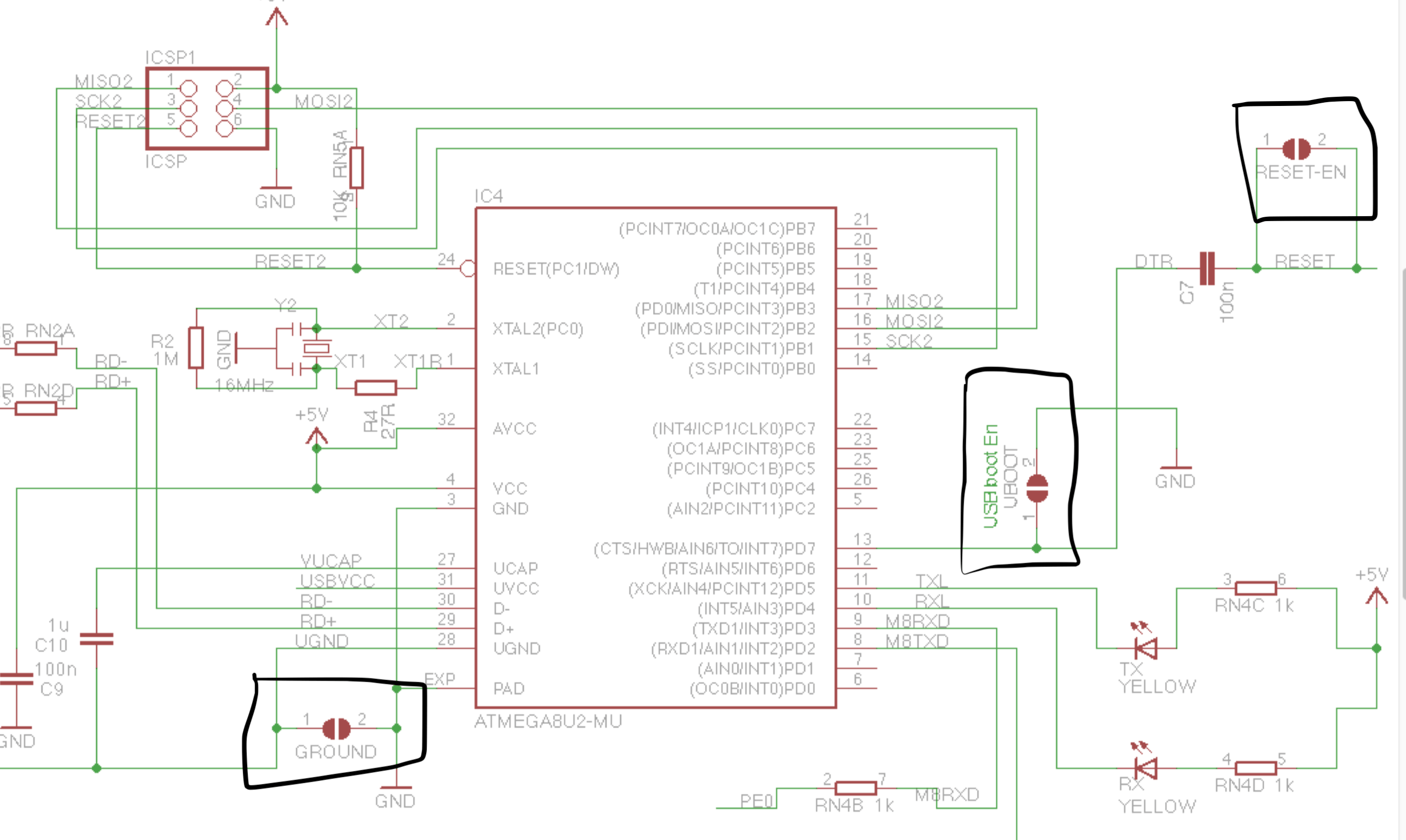What Are These Components In Arduino Mega Schematic