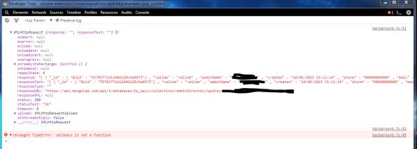 javascript - Empty XmlHttpRequest.response but XHR ...