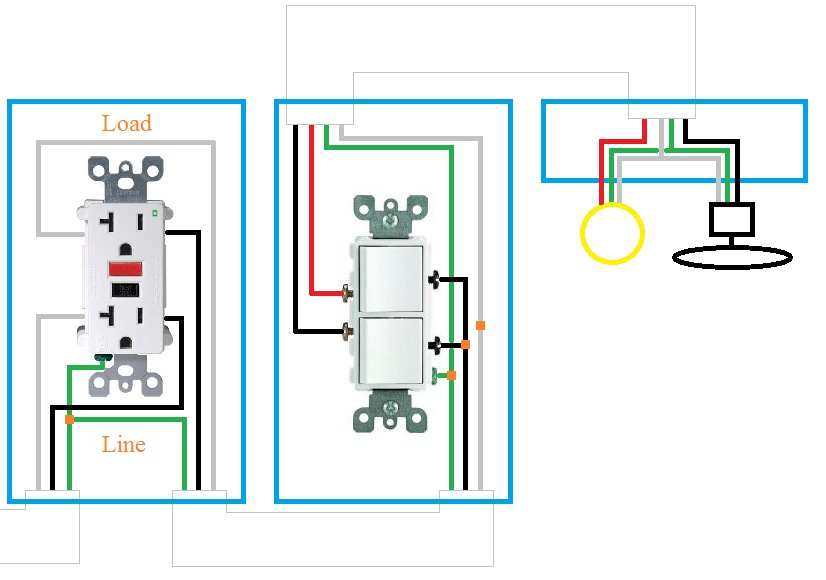 How Can I Rewire My Bathroom Fan, Light, And