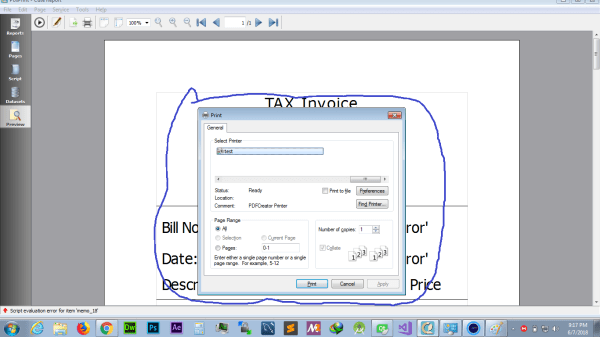 c++ - how to hide cute report print dialog in qt? - Stack ...