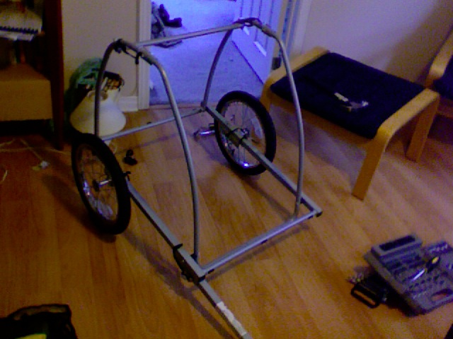 Converting Kid Trailer To Cargo Trailer Bicycles Stack
