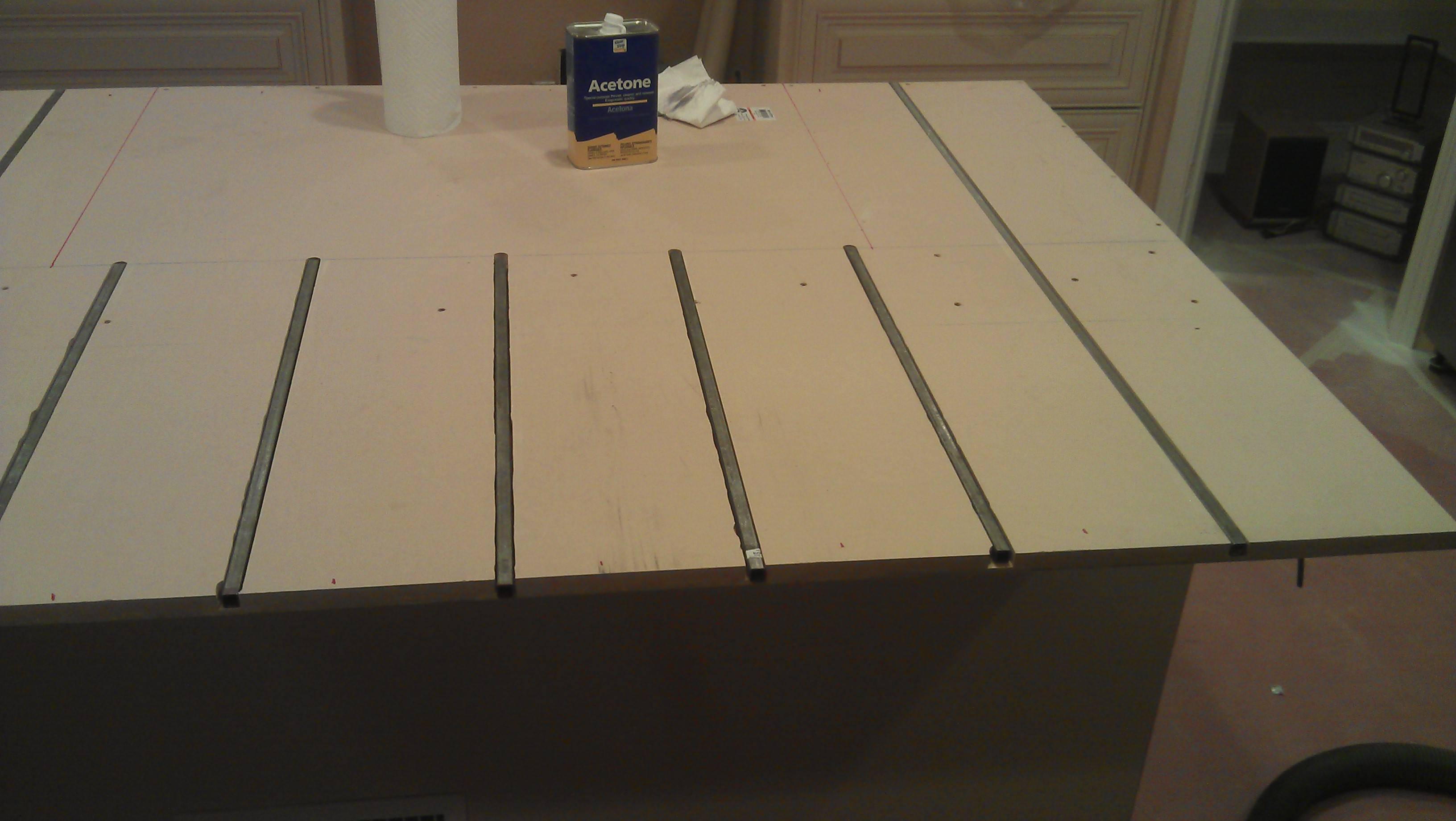 Can I Support A Granite Countertop Overhang With Embedded Steel Bars Home Improvement Stack Exchange