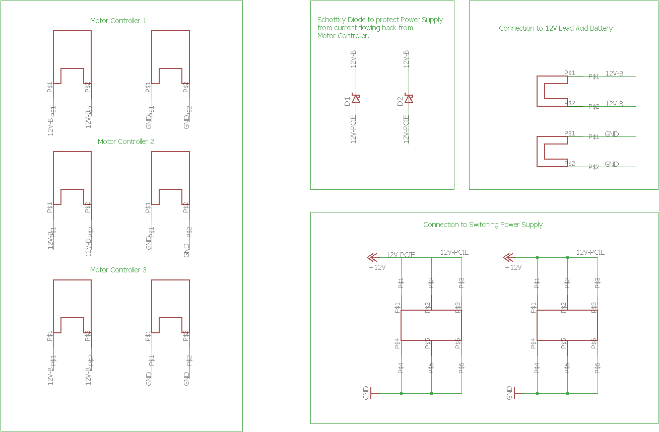 Problem With Schottky Diode In Motor Controller Circuit