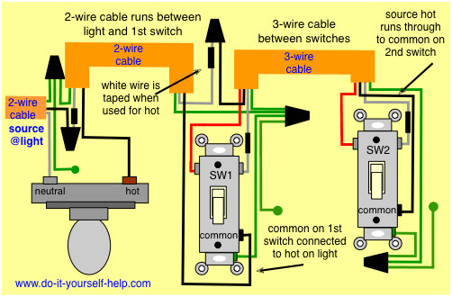 How Can I Get My Three-way Switches Working