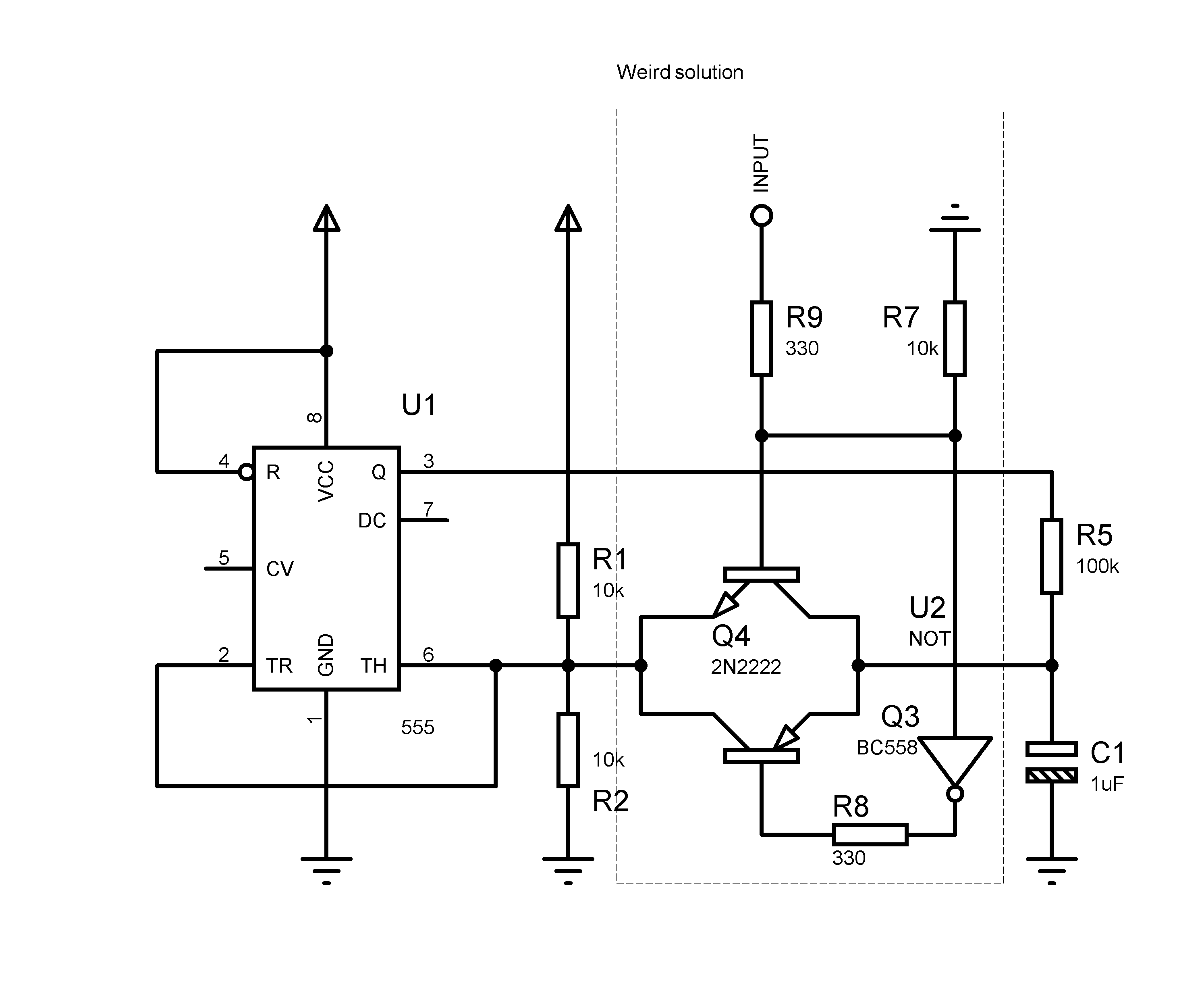 Push Switch Schematic