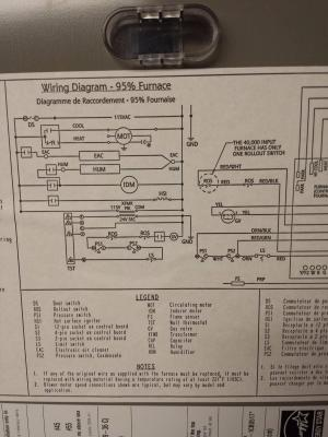 hvac  How can I modify a 4 wire thermostat to a new