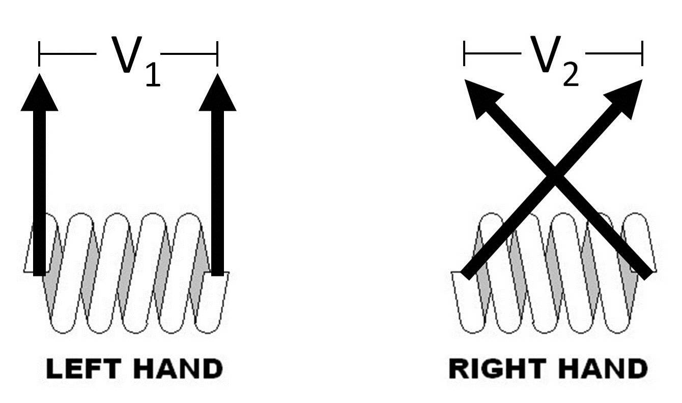Coil Winding Sense Of Inductor Transformers And Output