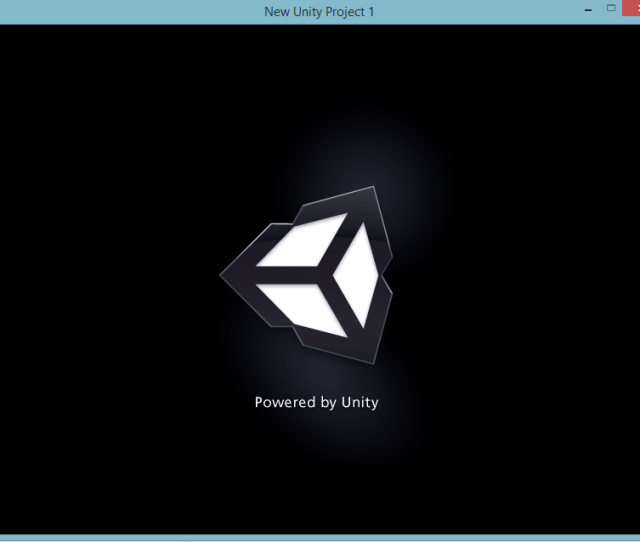 The Unity3d Created Application Window