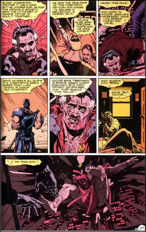Was Rorschach's Pagliacci joke a real joke? - Science Fiction & Fantasy  Stack Exchange