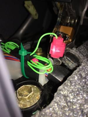 audio  Pioneer stereo parking brake wire issue  Motor