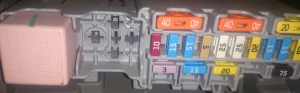 Where (and what?) are the fuses in Renault Megane Grande Scenic?  Motor Vehicle Maintenance