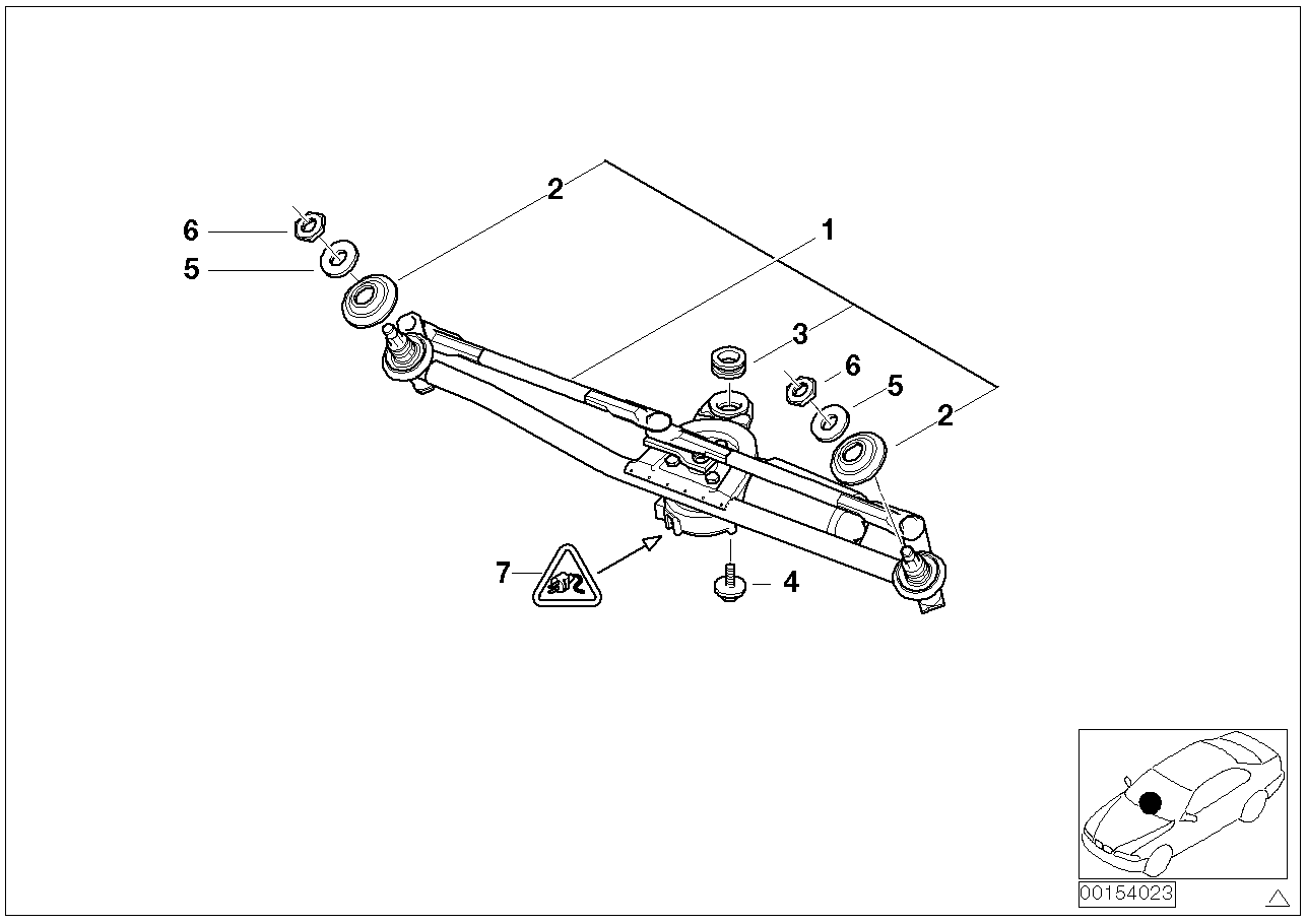 Ford Wiper Linkage Diagram