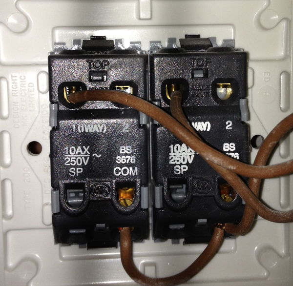 how to replace a standard 2gang light switch with an