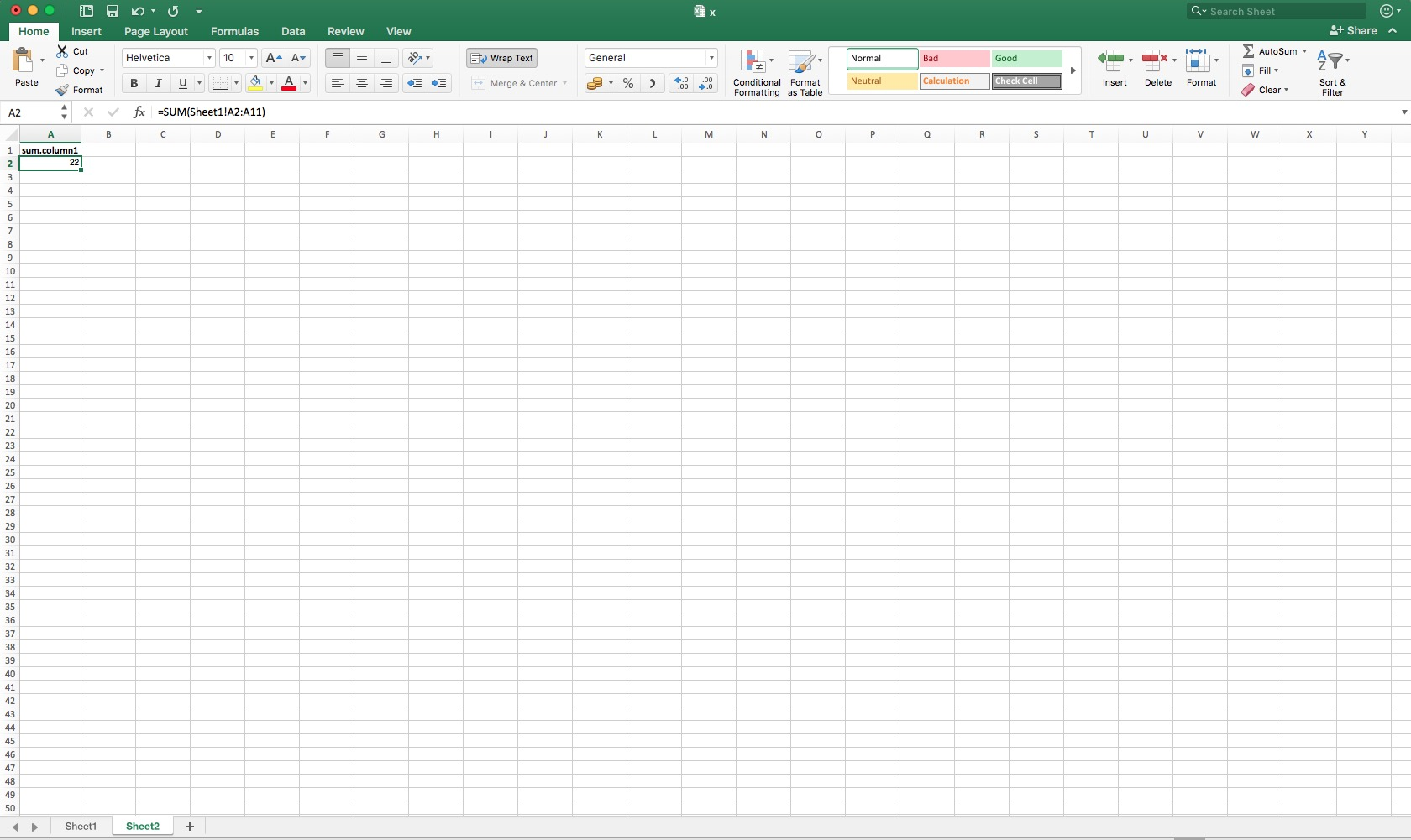 Update Sum When New Rows Added In Excel