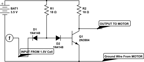 Transistor Based NOT Gate Not Working