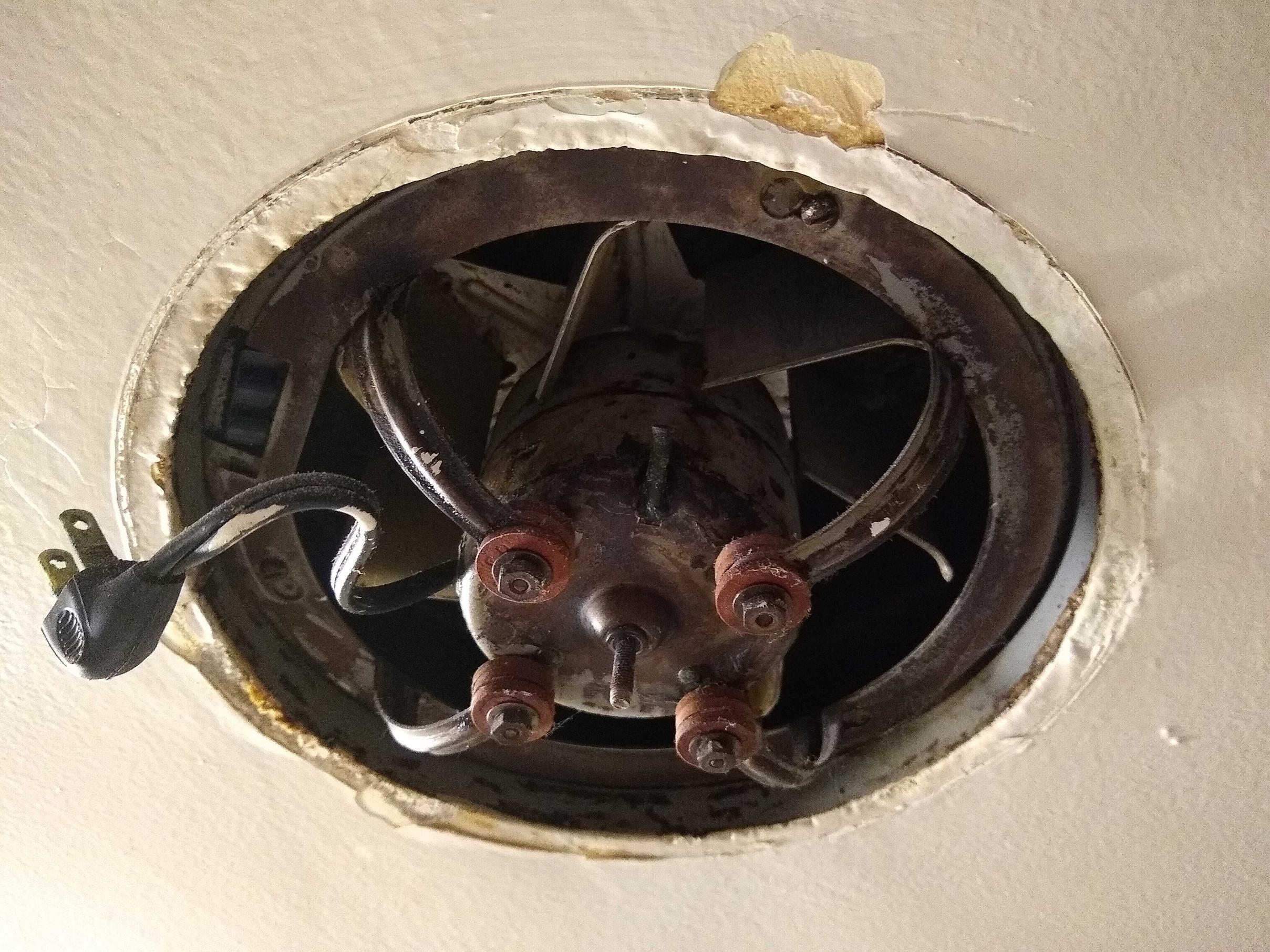retrofit existing kitchen exhaust fan