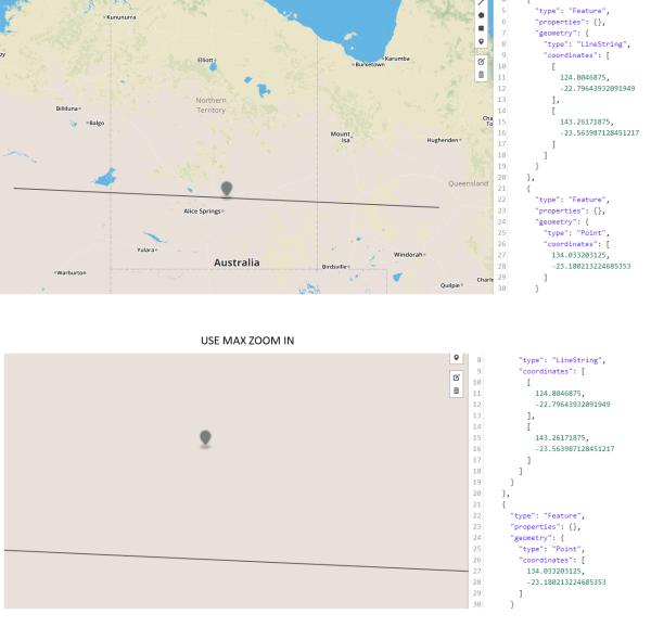 javascript - GeoJSON. JS/NodeJS, float number. Incorrect ...