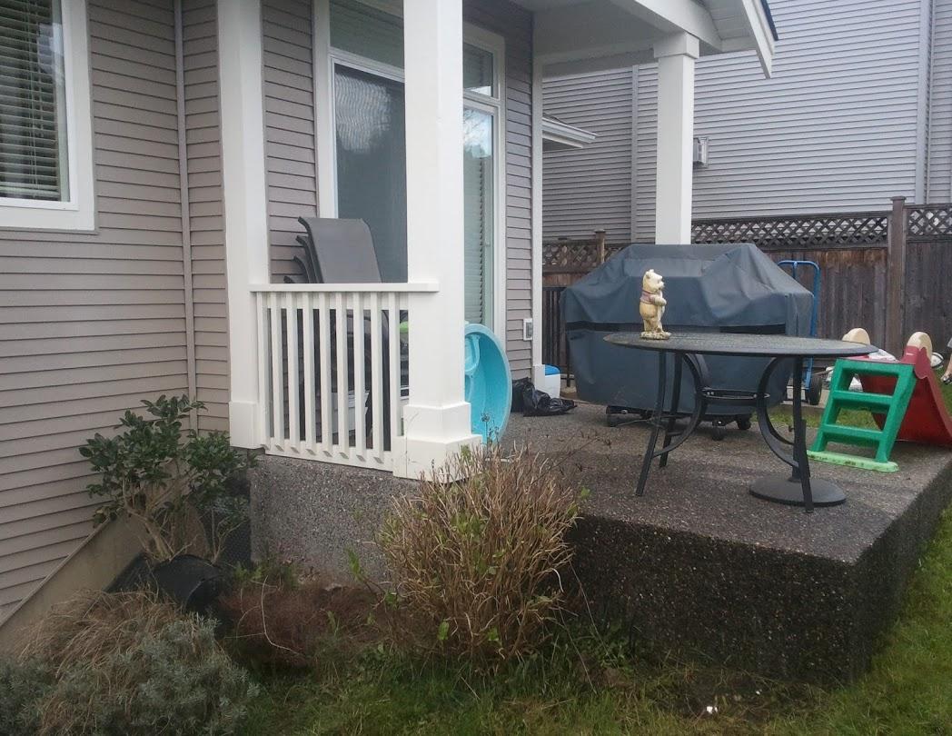 deck over my existing concrete patio
