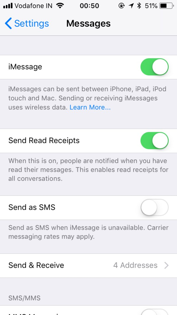 sms - Text Message Forwarding - Option missing from iPhone ...