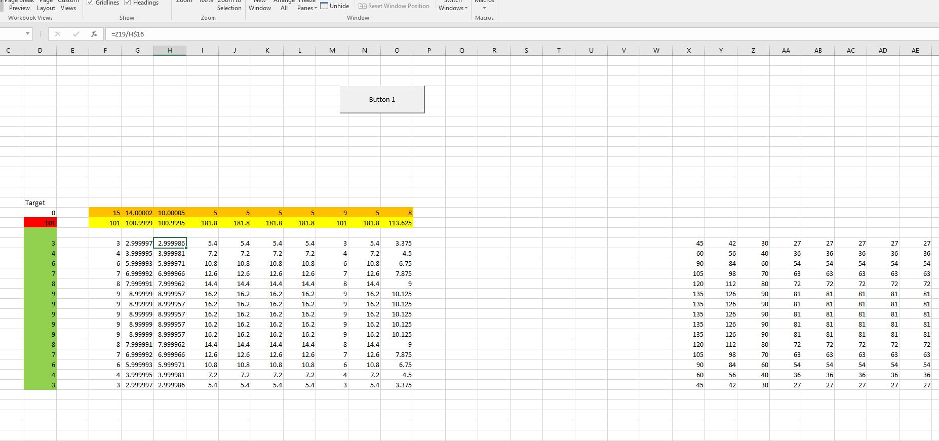 Excel Goal Seek Function