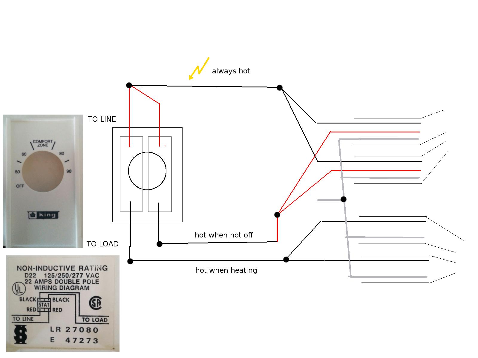 Electric Garage Heater Wiring Diagram On Wiring 240v Garage Heater
