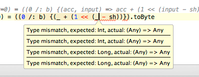 Type Mismatch Error With Foldleft Method In Scala