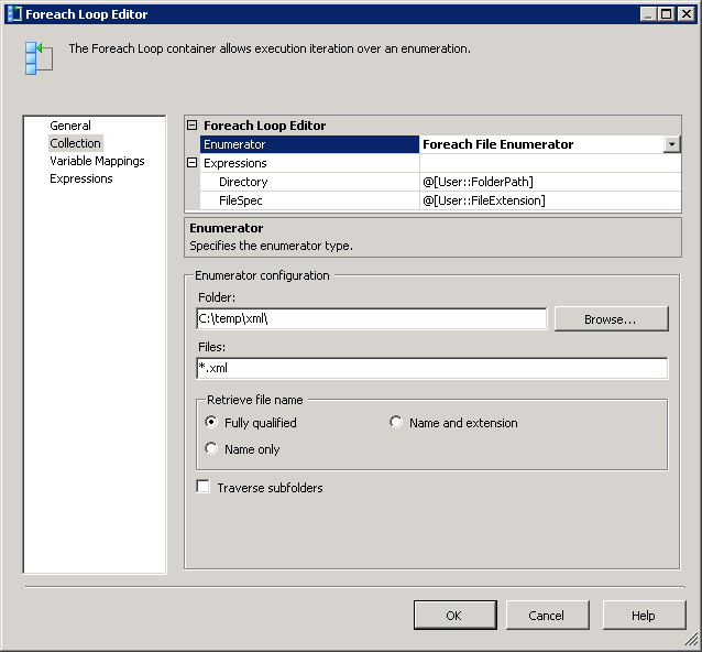 Load an XML file into a Database using SSIS Package (4/6)