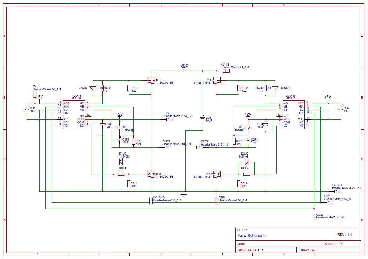 Voltage Spikes In H-bridge Inverter Square Wave