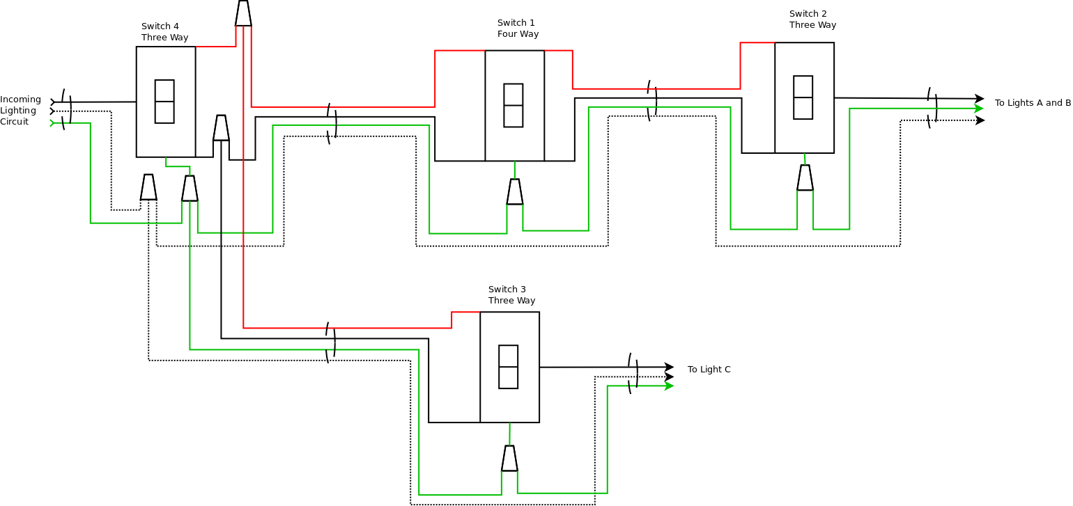 Is It Possible To Control 3 Light Fixtures