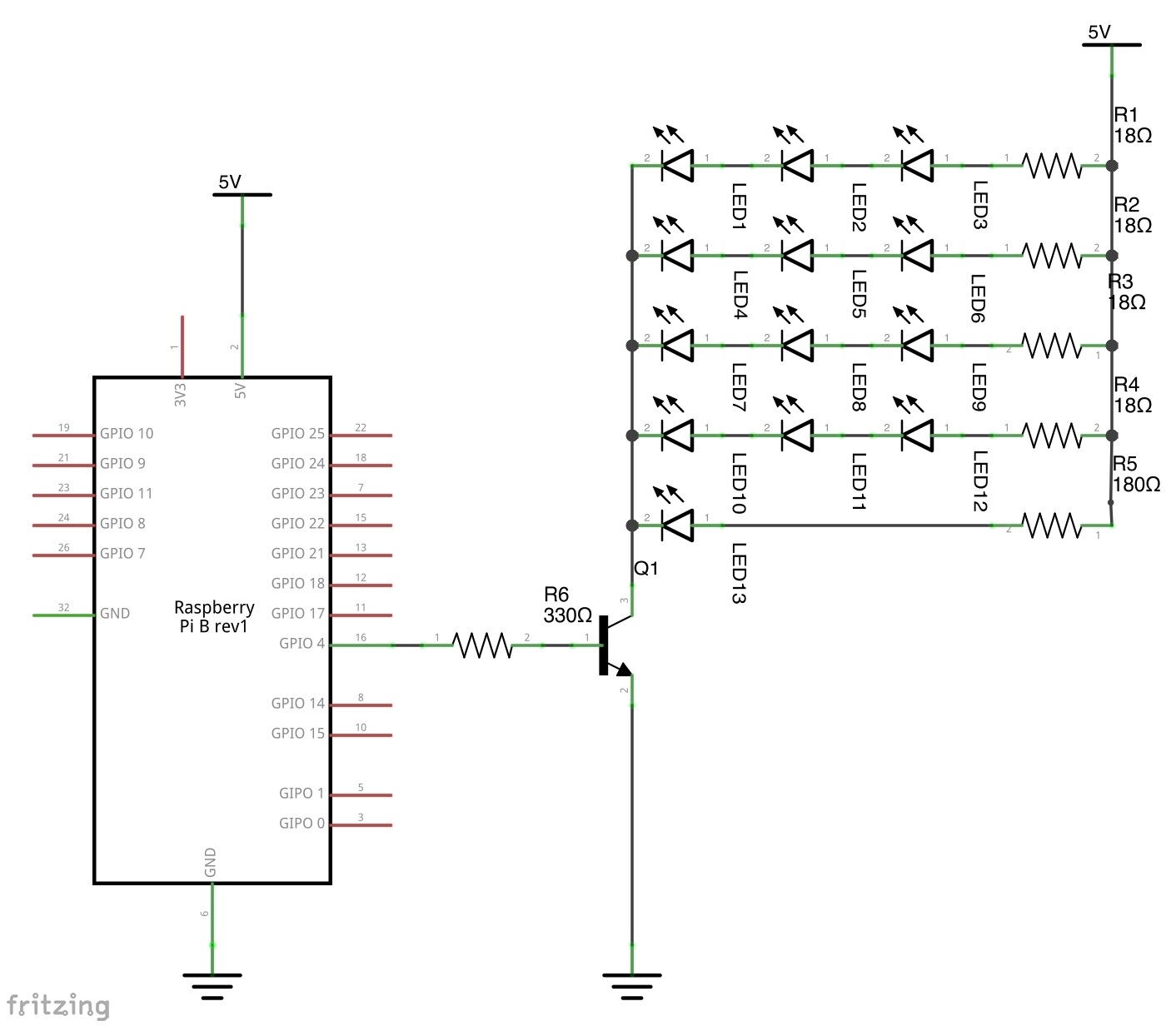 How To Use Rpi Gpio To Pwm Adjust Ir Leds Brightness
