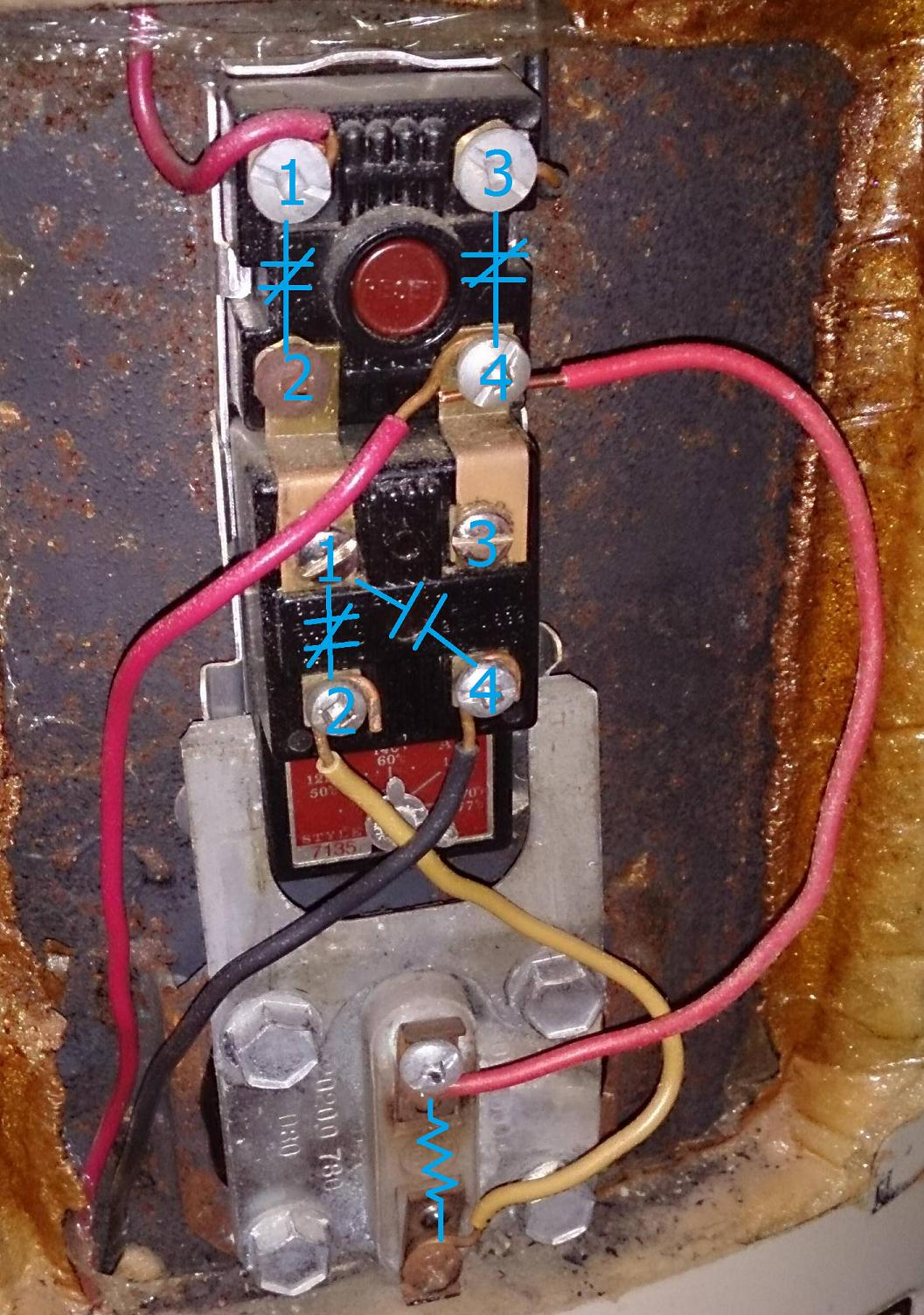 Electrical Is This Electric Water Heater Wiring Correct