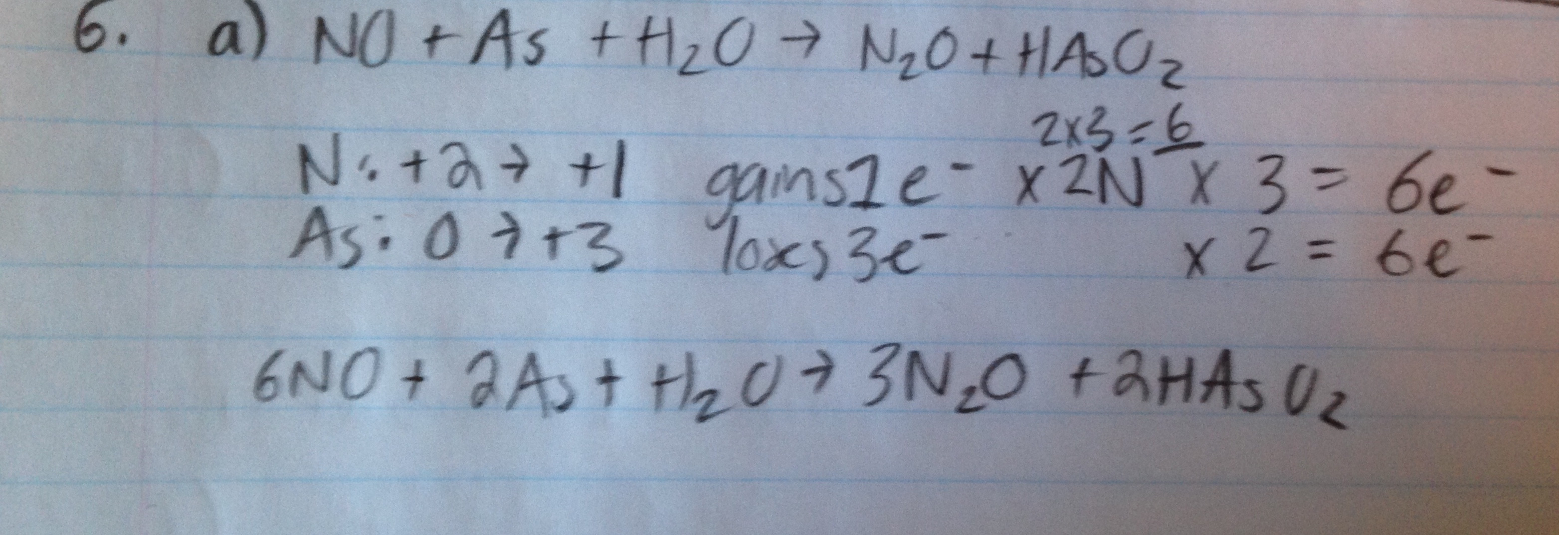 Balancing Redox Reactions In A Basic Solution When No H