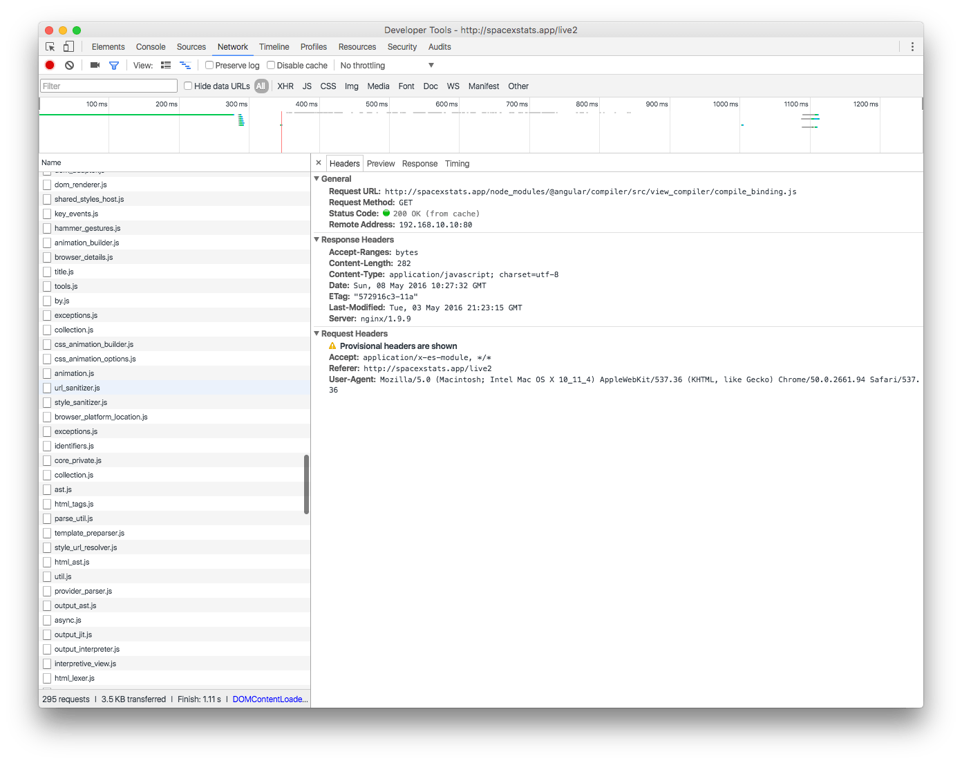 Angular2 入門 关于javascript:如何防止angular2核心在页面加载时发出数十个