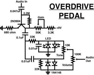 guitar  Overdrive Pedal DIY parts  Sound Design Stack