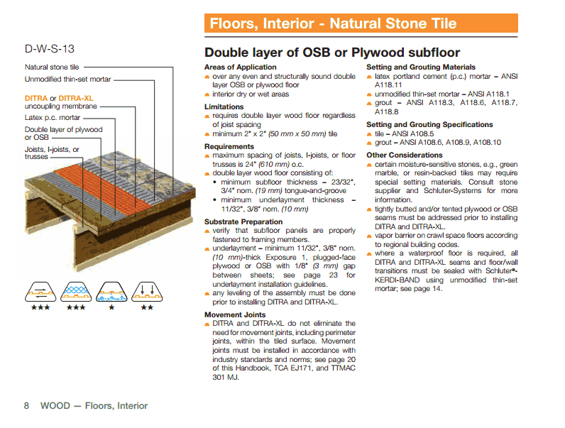 how should i install a plywood subfloor