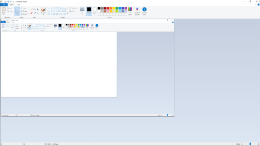 MS Paint showing own screenshot sized 1920x1080 but scaled down