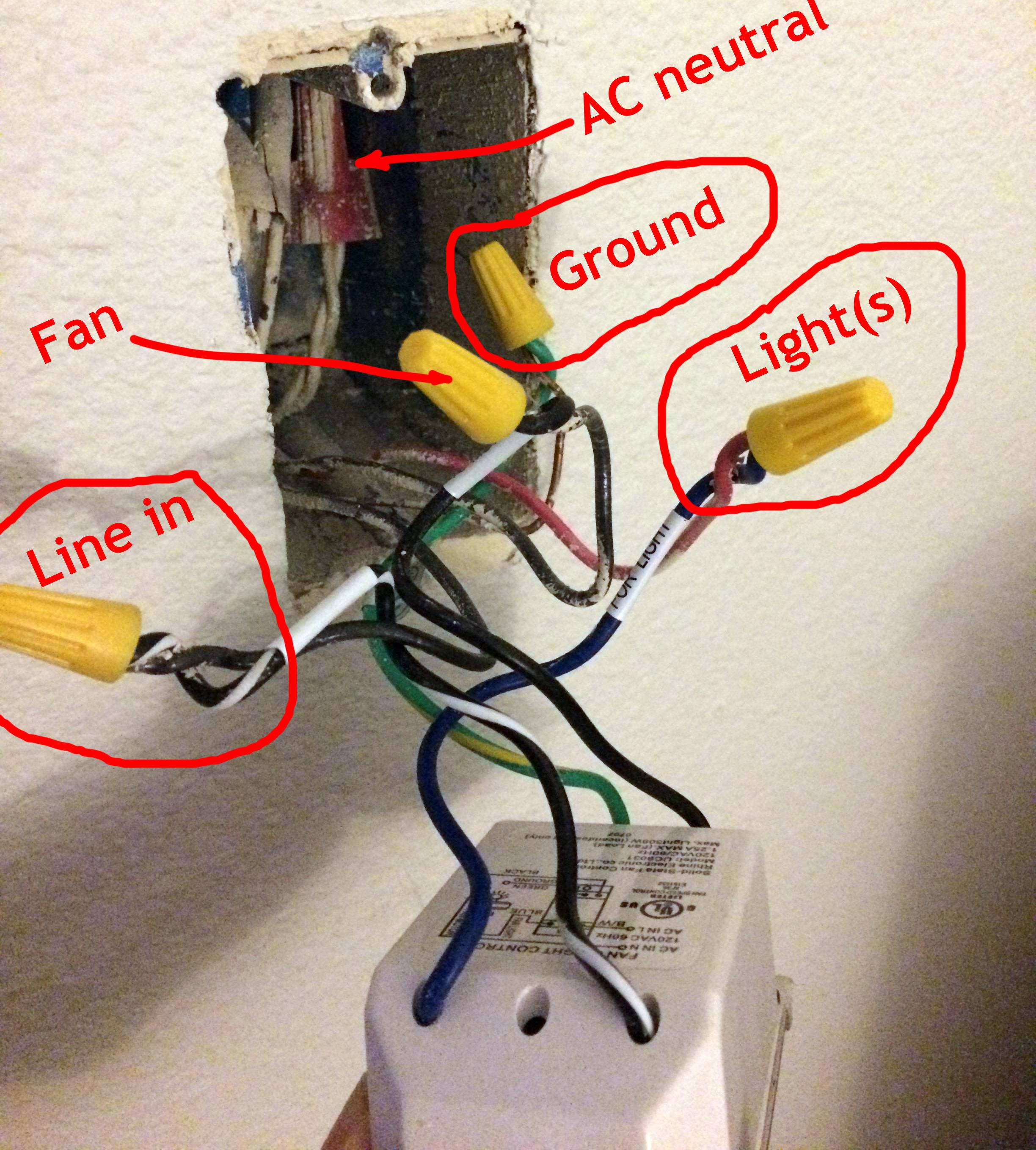 Electrical Rewire Wall Switch To An Onoff Switch For A